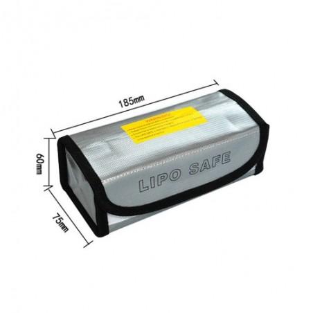 LiPo Battery safe bag 185x75x60mm
