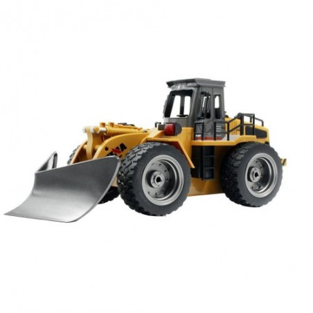 RC Alloy Shovel Snow Truck Huina 1586 1/18 6ch