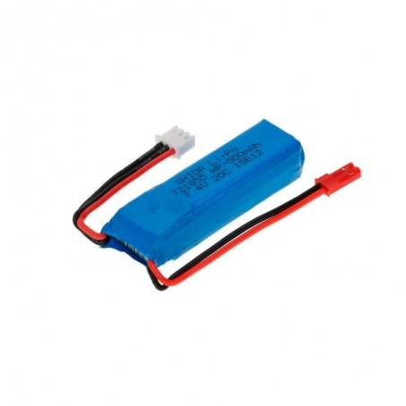 Bateria LiPo 7.4v 500mAh WLToys A242 - A252