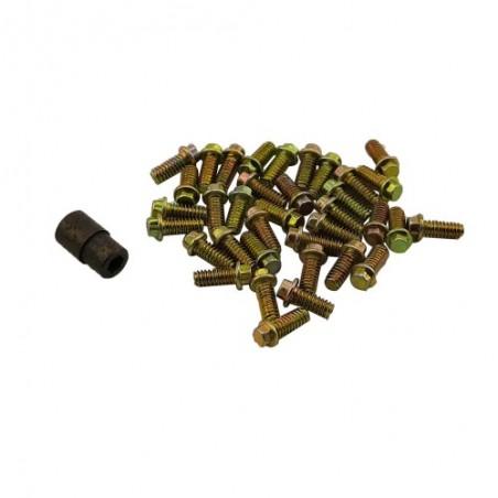 Tornillos 2x5mm para Llantas Beadlock con Llave x30 uds.