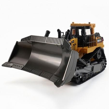 Bulldozer Excavadora con oruga Huina 1569 1/16 8ch