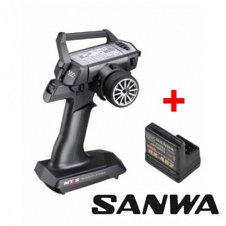 Emisora SANWA MTS + Receptor RX482