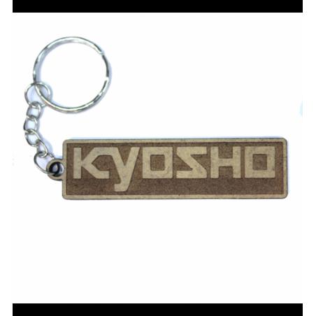 Kyosho lasered keychain Wood 3mm