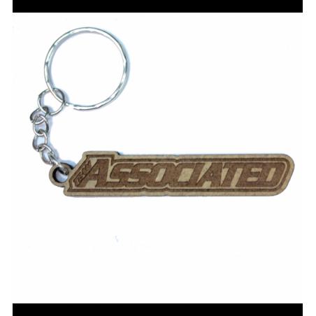 Team Associated lasered keychain Wood 3mm