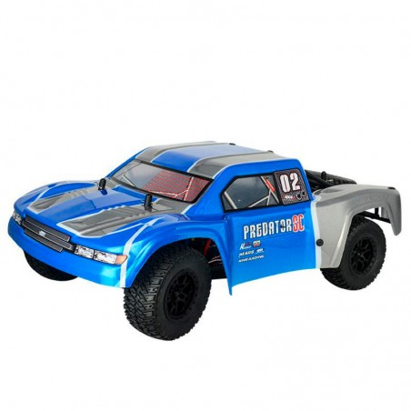 Short Course HNR Predator 1/10 Brushless 4x4 Azul RTR