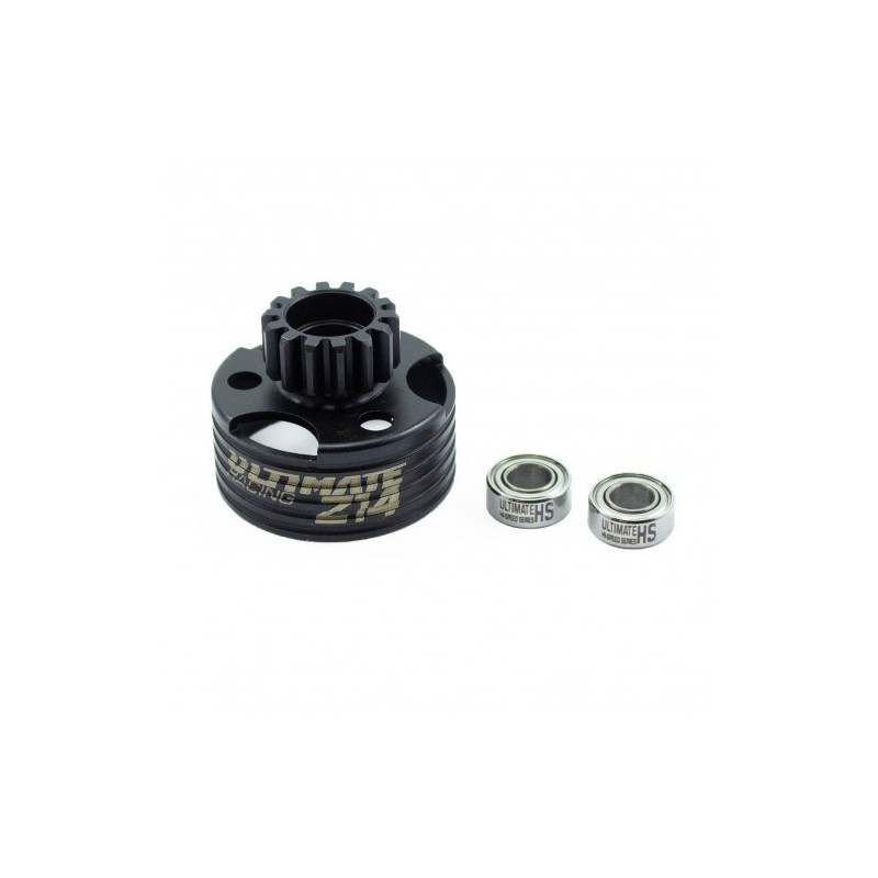 Ventilated Z14 Clutch Bell with bearings