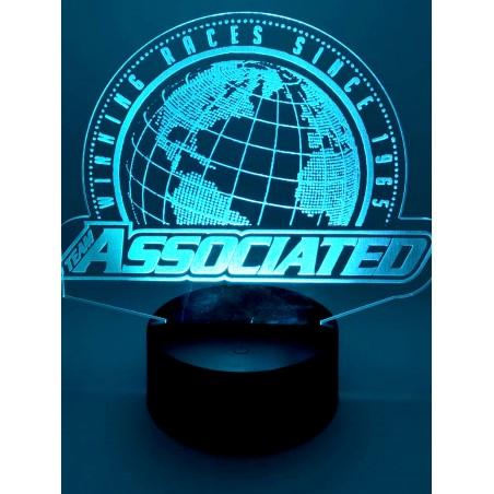 Associated Color Desk LED Lamp
