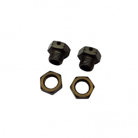 Wheel Hub 17mm +1.9mm Long Hong Nor X3GT