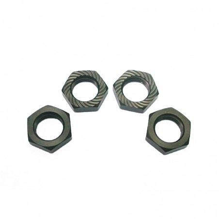 Wheel nuts 17mm Aluminum Hong Nor