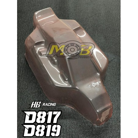 HB Racing D815 D817 D819 Nitro Clear body Not Painted