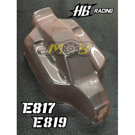HB Racing E817 E819 Clear body Not Painted