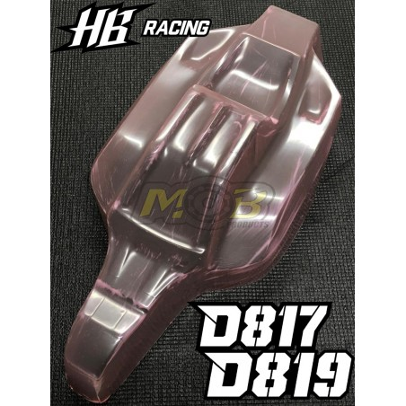 HB Racing D815 D817 D819 Nitro2 Clear body Not Painted