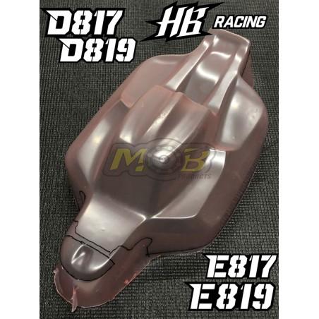 HB Racing D817 D819 E817 E819 S15 Clear body
