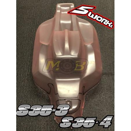 Carroceria Sworkz S15 S35-3 S-35-4 Nitro ECO Transparente