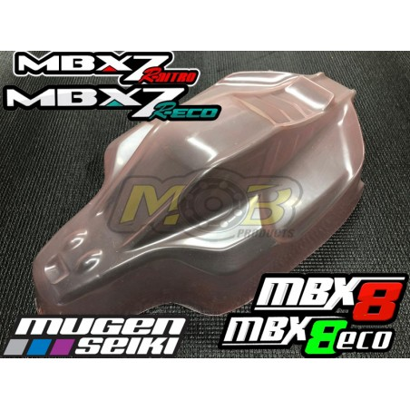 Mugen MBX7R MBX8 Vision Clear body Not Painted
