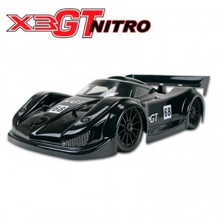 Hong Nor X3GT 1/8 Nitro Rally Game RTR Asphalt