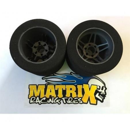 Ruedas Matrix Carbon Five traseras 1/8 Pista 35SH x2 uds.