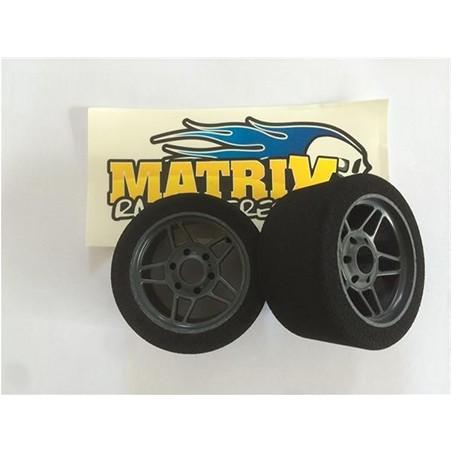 Matrix Tyres Five Light 1/8 Rear 35SH x2 pcs