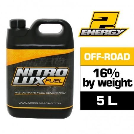 Nitrolux Fuel Energy2 OFF ROAD 16% 5L - No License
