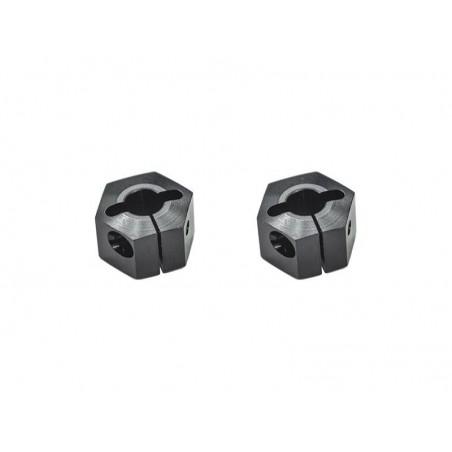 Hexagono de rueda de +1mm Serpent SRX2 Gen3 x2 uds.