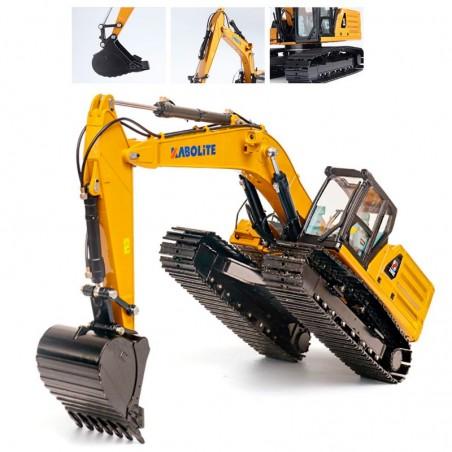 Excavadora RC HUINA K336 1/14 Metalica Hidraulica Profesional