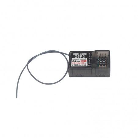 Receptor RGT 6ch 2.4Ghz 86100 Dumborc X6FG
