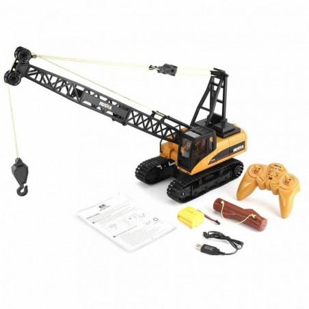 Rc Crawler crane Huina 1572 1/14 15ch with Hook