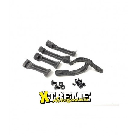 Xtreme Body stiffeners Carbon NG x6 pcs