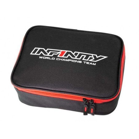 Bolsa herramientas accesorios Infinity Negro / Rojo