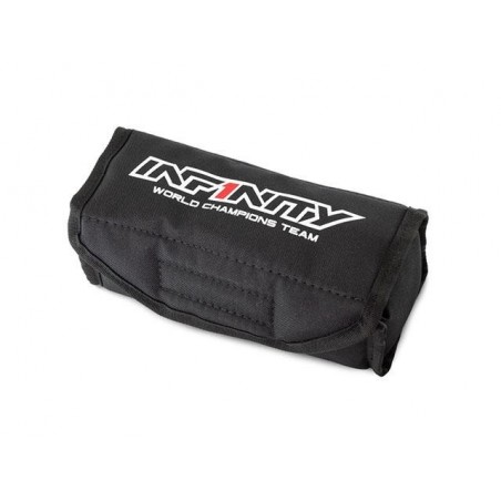 Bolsa seguridad baterias LiPo Infinity Negro
