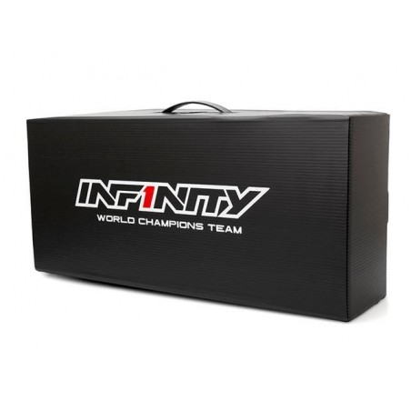 Caja plastica transporte 47x21.5x13 cm Infinity