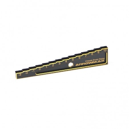 Chassis droop gauge -3 to 10mm 1/10 Touring Arrowmax