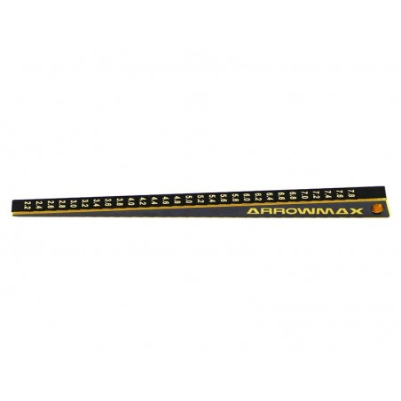 Ultra-Fine chassis ride height Gauge 2 - 8 mm Arrowmax