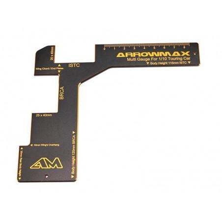 Galga Arrowmax ajuste Carroceria 1/10 Touring Electrico