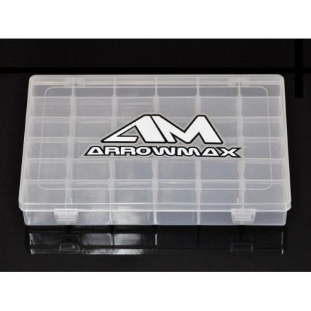 AM-199523- Caja plastico 36 compartimentos 272x175x43mm
