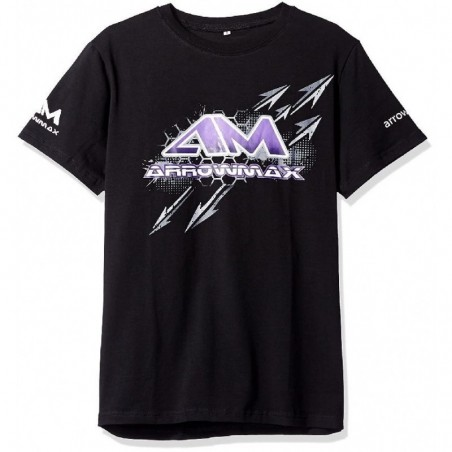 Arrowmax T-Shirt Black Size S