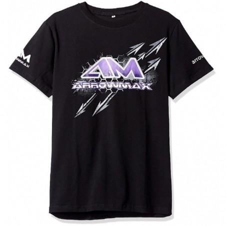 Camiseta Arrowmax color negro Talla M