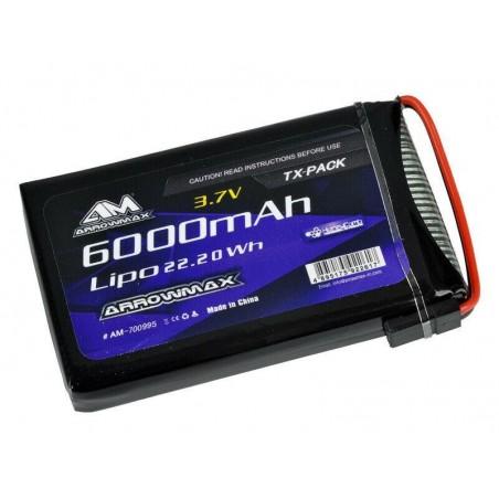 Bateria LiPo 6000mAh 3.7v Arrowmax emisora Sanwa M17