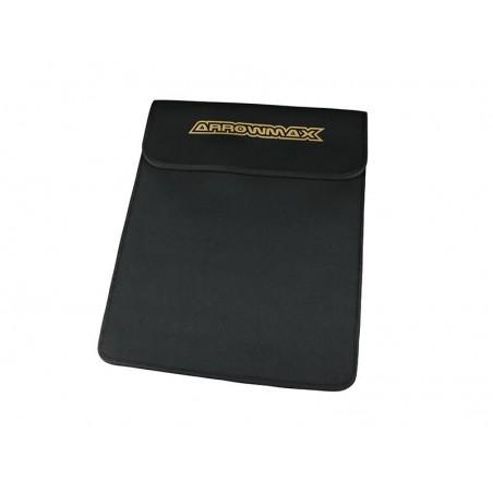 Bolsa tabla Setup Carbono 1/10 - 1/8 Pista Arrowmax