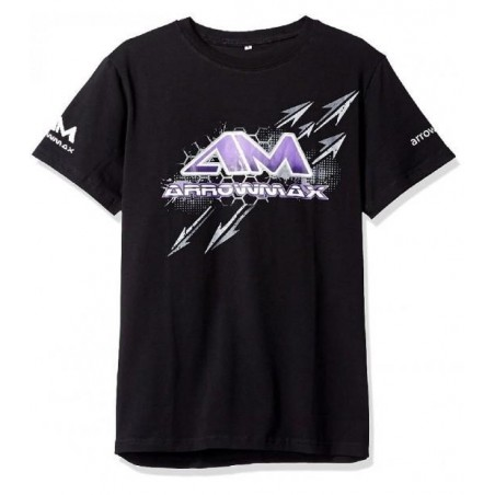 Camiseta Arrowmax color negro Talla L