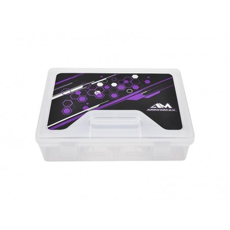 Caja piezas compartimentada 230x160x60mm Arrowmax