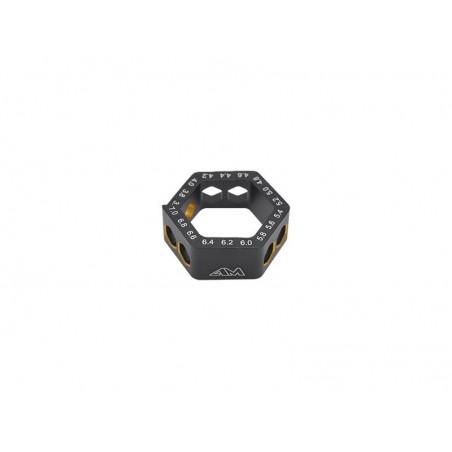 Galga ajuste droop circular 3.6mm a 7.0mm Arrowmax