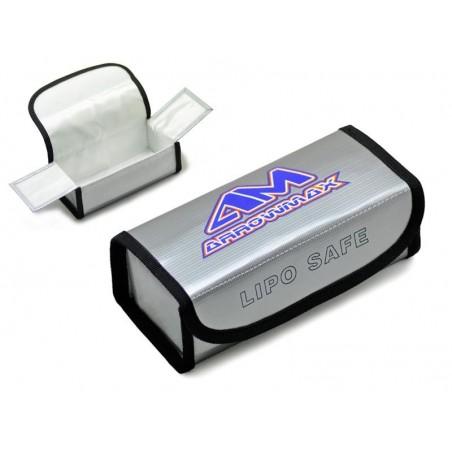 Arrowmax LiPo battery safe bag 185x75x60mm