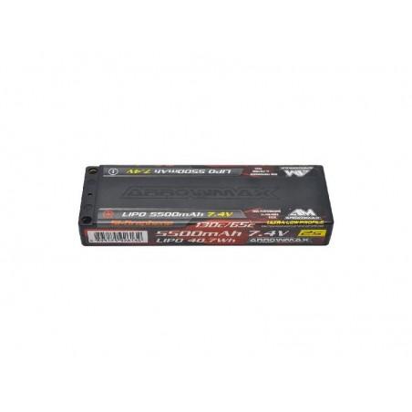 Bateria LiPo 2S 7.4v 5500mAh 130C-65C Ultra Low Profile Competicion TC