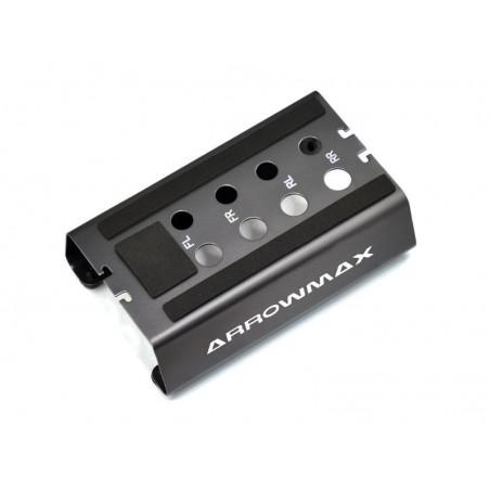 Soporte Aluminio coches 1/10 Off Road Arrowmax