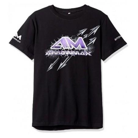 Camiseta Arrowmax color negro Talla XL