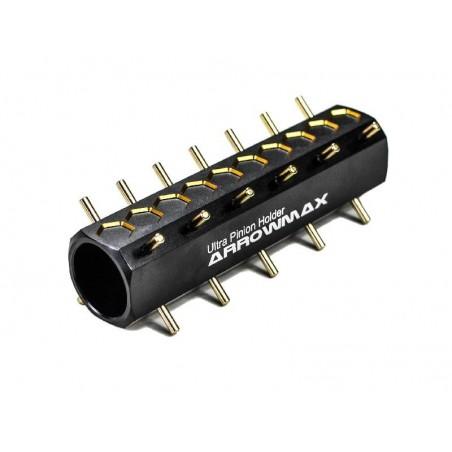 Ultra pinion holder V2 Black Golden Arrowmax