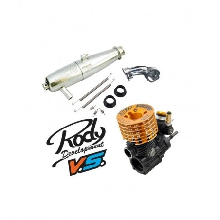 Combo VS Racing VS-R05 engine Exhaust 2098 MR02