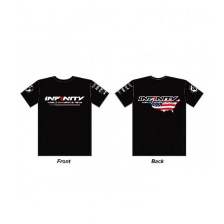 Infinity Team USA T-Shirt Black Size XL
