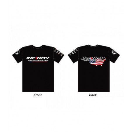 Infinity Team USA T-Shirt Black Size L